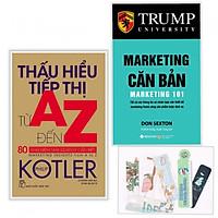Sách Combo Thấu Hiểu Tiếp Thị Từ A Đến Z, 80 Khái Niệm Nhà Quản Lý Cần Biết - Marketing Căn Bản + ( Kèm Tặng Bookmark PD)