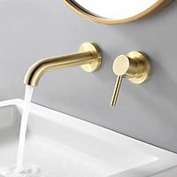 Vòi nước âm tường nóng lạnh bằng đồng cao cấp LI-VOI0021 - Đơn giản và sang trọng