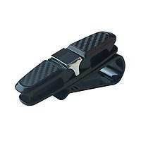 Kẹp Kính Mắt Trên Ô Tô Vân Carbon Glasses Clip SD-1305