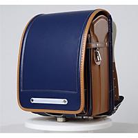 Cặp sách chống gù lưng Nhật bản cho bé vào lớp 1 màu xanh đậm