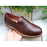 Giày lười Boots nam phong cách đế chống đinh -gl0050