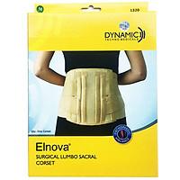 Đai lưng Cố Định Thắt Lưng Cột Sống | Đai thoát vị đĩa đệm Elnova (Màu Kem)