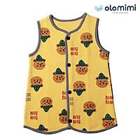 Áo gile cho bé Olomimi Hàn Quốc Bear Bear - 100% cotton