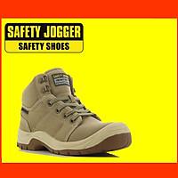 [HÀNG CHINHS HÃNG] Giày Bảo Hộ Lao Động Safety Jogger Desert 011, Da Chất Lượng Cao, Đế PU, Chống Đâm Xuyên, Va Đập