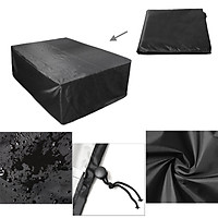 2870 x 1550 x 820MM 9ft Polyester Waterproof Fabric Outdoor Pool Snooker Billiard Table Cover To the floor