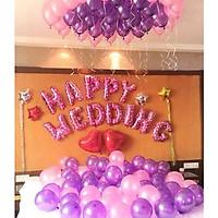 Set bóng trang trí phòng cưới, phòng tân hôn lãng mạn 097