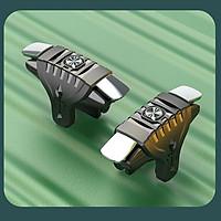 Bộ 2 nút bắn pubg F01 thế hệ mới phụ kiện chơi game pubg ros freefire trên điện thoại