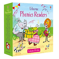 Sách tiếng Anh - Usborne Phonics Readers Boxed Set
