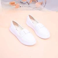 Giày Búp Bê Đế Slipon Siêu Nhẹ Nơ Thắt Pixie X638