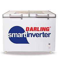 TỦ ĐÔNG DARLING INVERTER 370 LÍT DMF-3799ASI ĐỒNG (R134A) - hàng chính hãng