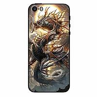 Ốp lưng in cho Iphone 5/ 5s/ 5se Rồng Trăng