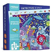 Đồ Chơi Ghép Hình Kèm Kính Lúp Cho Bé Làm Thám Tử Không Gian MD3007 - Mideer Puzzle - Detective In Space