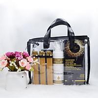 Bộ dụng cụ lăn triệt lông quyến rũ Beauty Image Waxing Kit Glamour