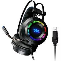 Tai Nghe Chụp Tai Chuyên Game WM 9800S  Âm Thanh 7.1 - Led RGB - Jack Cắm USB
