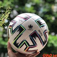 Quả Bóng Đá Uniforia Euro Cup 2021 Số 4 5 Da PU Tiêu Chuẩn Thi Đấu (Bóng đúc cao cấp)