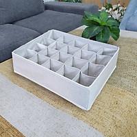 Khay đựng đồ lót chia 20 ngăn - vải Oxfort 600D - phong cách Thụy Điển sang trọng, bền đẹp
