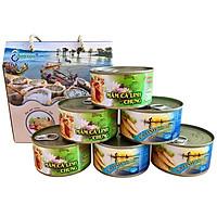 COMBO - Thùng (06 hộp)  3 hộp Mắm Cá Linh Chưng và 3 hộp Cá Linh Kho Mía - Antesco