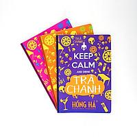 Vở kẻ ngang 72 trang Keep Calm & Trà Chanh 1398 (15 quyển)