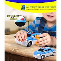 Hộp đồ chơi lắp ráp biến hình ô tô nhiều chi tiết nam châm