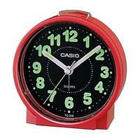 Đồng Hồ Để Bàn Casio TQ-228-4DF Màu Đỏ - Có Báo Thức - Dạ Quang - Kích Thước Vỏ ( 8.6 cm )