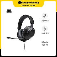 Tai Nghe Gaming Chụp Tai JBL Quantum 100 - Hàng Chính Hãng