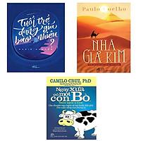 Combo sách nhà giả kim, tuổi trẻ đáng giá bao nhiêu, ngày xưa có một con bò - Tặng ngẫu nhiên 1 cuốn truyện song ngữ trong 4 cuốn