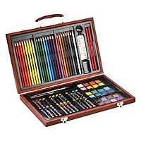 Bộ Vẽ Đa Năng Hộp Gỗ Hiệu Colormate 83W