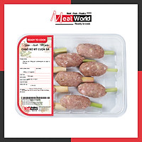 [HCM] - Chạo Bò Mỹ Cuộn Sả 300g - giao nhanh