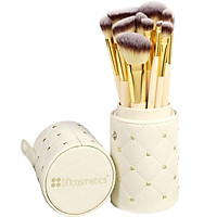 Bộ cọ  BH Cosmetics 12 cây - Studded Couture 12 Piece Brush Set With Holder