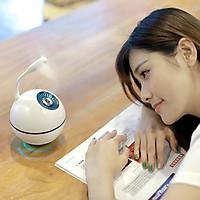 Máy phun sương tạo ẩm khuếch tán tinh dầu quả cầu Space Ball humidifier GXZ-J616 cao cấp tích hợp đèn, quạt mini