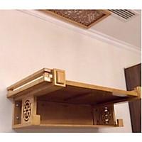 Bàn thờ treo tường gỗ sồi mẫu chữ thọ