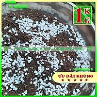 Giá Thể siêu dưỡng - Đất trộn sẵn chuyên trồng Sen Đá - Hương Thảo - cây lá kiểng 1kg