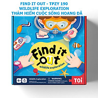 Trò chơi Truy Tìm Động Vật chính hãng TOI FIND IT OUT Wildlife Exploration