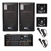 Combo Dàn nhạc và hát karaoke BellPlus RSX - 4 tấc - Hàng chính hãng