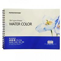 Tập Giấy vẽ màu nước Lò xo Water Color định lượng 300g A4 (Giao mẫu ngấu nhiên)