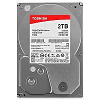 Ổ Cứng HDD Toshiba 2TB P300 series (64MB) 7200rpm  SATA3 HDWD120UZSVA - Hàng Chính Hãng