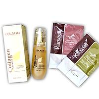 Tinh dầu dưỡng tóc COLATIN Argan Oil 40ML + Cặp gội xả gói Karseell 15mlx2