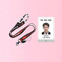 Combo card cứng SEHUN EXO kèm dây đeo thẻ EXO