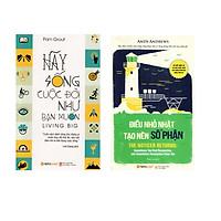 Combo Sách Kỹ Năng Sống: Hãy Sống Cuộc Đời Như Bạn Muốn + Điều Nhỏ Nhặt Tạo Nên Số Phận