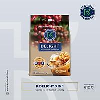 Cà Phê Hòa Tan K Coffee Delight 3in1 (612g / Hộp)