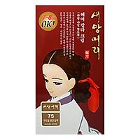 Nhuộm Tóc Thảo Dược Hàn Quốc Saeangmeori Màu 7S (125ml)