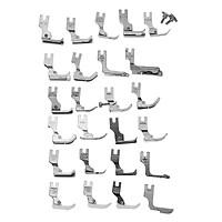 25 Presser Foot Set for Juki Ddl-5550 8500 8700 9000 Industrial Sewing Machine