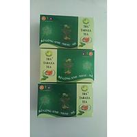 Bộ 3 Hộp trà Tea Taxara chính hãng P&K loại lớn  thải độc gan hỗ trợ xương khớp