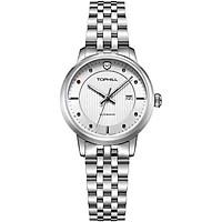 Đồng hồ nữ máy cơ tự động mặt đính đá TOPHILL TA032L.S1238