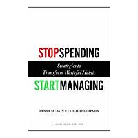 Harvard Business Review: Stop Spending, Start Managing