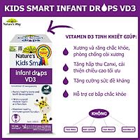 NATURE'S WAY KIDS SMART INFANT DROPS VD3 - BỔ SUNG VITAMIN D3 CHO BÉ
