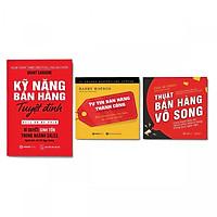 Combo 3 Cuốn: Kỹ Năng Bán Hàng Tuyệt Đỉnh + Thuật Bán Hàng Vô Song + Tự Tin Bán Hàng Thành Công (Tái Bản)