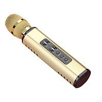 Micro bluetooth hát karaoke không dây nghe nhạc cực hay, âm bass đỉnh, mic bắt giọng cực tốt, có hỗ trợ thẻ TF, Jack 3.5 PKCB PF14 - Hàng chính hãng