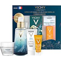 Bộ Dưỡng Chất (Serum) Khoáng Núi Lửa Cô Đặc Vichy Mineral 89 Giúp Da Sáng Mịn Và Căng Mượt (Mineral Festival 2)
