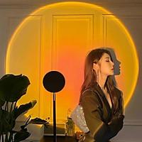 Đèn hoàng hôn Sunset Lamp 4 màu/16 màu hiệu ứng ánh sáng đẹp có remote điều khiển màu thích hợp chụp ảnh sống ảo Tiktok, Livestream